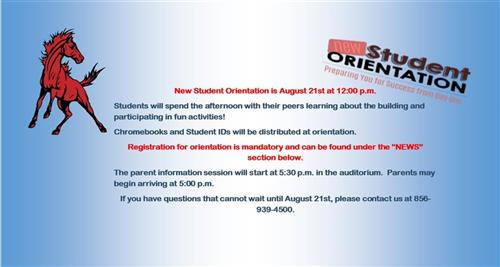 New Student Orientation 2019