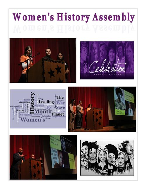 Women's History Month Assembly 2018 3
