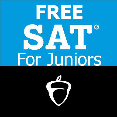 Free SAT Testing for Juniors (Must register now through February 8th!)