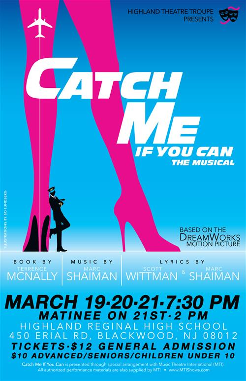 <br><font color=blue><font size=5>Catch Me If You Can Musical Highlights