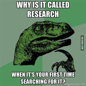 Research Dinosaur