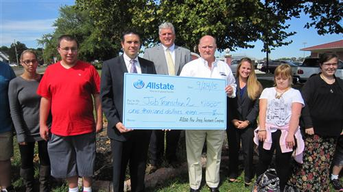 Special Services Dept. is awarded Allstate grant!